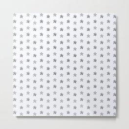 Turtle Flowers Metal Print