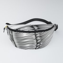 Read and Write A to Z Black on White Fanny Pack