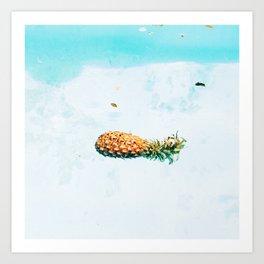 Ananas Ayisyen Art Print
