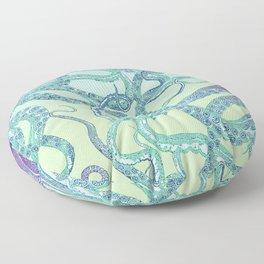The Elusive Octopus Floor Pillow