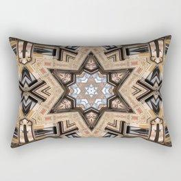 Architectural Star of David Rectangular Pillow