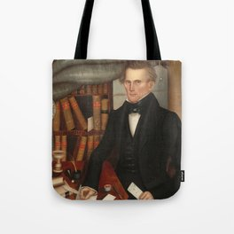Vermont Lawyer Oil Painting by Horace Bundy Tote Bag