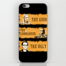 The good, the commander and the ugly - The 100 iPhone Skin