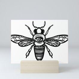 occult bees Mini Art Print