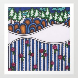 rosie hill Art Print