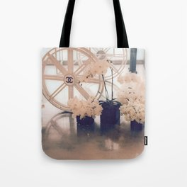 Coco No. 5 Floral Exhibit Tote Bag
