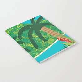 Tropical Island Getaway Notebook