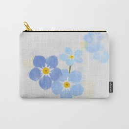 Forgetmenots Carry-All Pouch