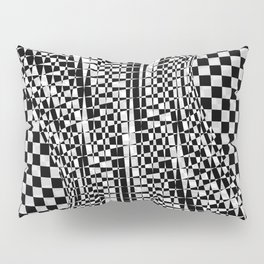 black white 09 Pillow Sham