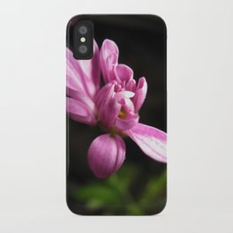 Purple Alone iPhone Case