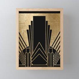 Art deco design Framed Mini Art Print