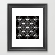 ELECTRIC EYES Framed Art Print