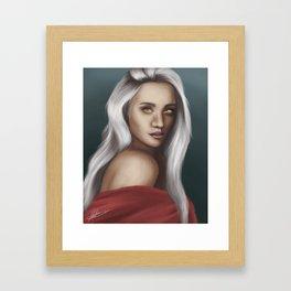 Manon Blackbeak Framed Art Print