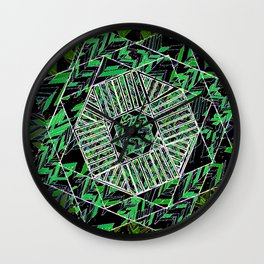 Global Art Wall Clock
