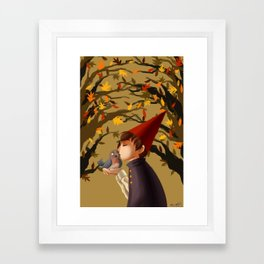 wirt & beatrice Framed Art Print