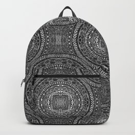 Tangled Mandala Pattern Backpack