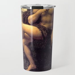 Bacchus - workshop of Leonardo da Vinci Travel Mug