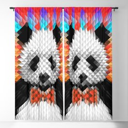 Geo Panda Blackout Curtain