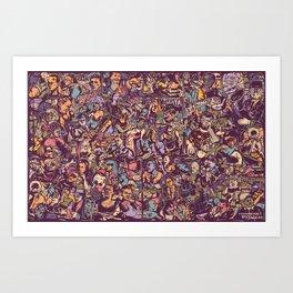 O formonsum spectaculum Art Print