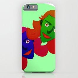 Alien girlies iPhone Case