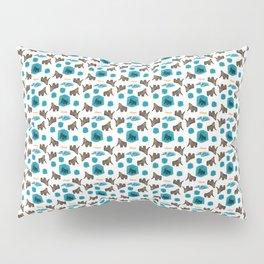 Cenozoic Extinction Event Pattern Pillow Sham