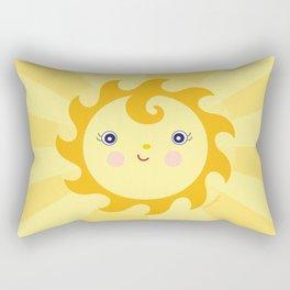 Sunny Sunshine Rectangular Pillow