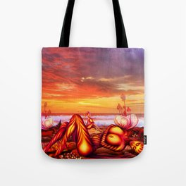 Late evening Tote Bag