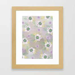 Jade and Kukac Framed Art Print