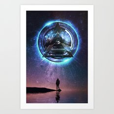 Perceive Art Print