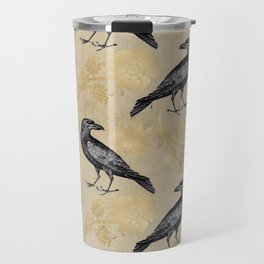Vintage Crow Travel Mug