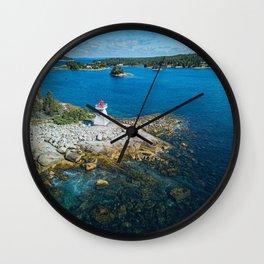 Paddy's Head Lighthouse Wall Clock
