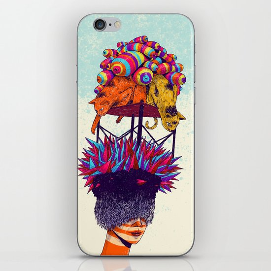 Full head iPhone Skin