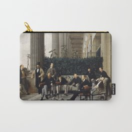 James Tissot - The Circle Of The Rue Royale Carry-All Pouch