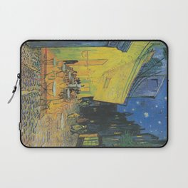 Vincent van Gogh - Cafe Terrace at Night Laptop Sleeve