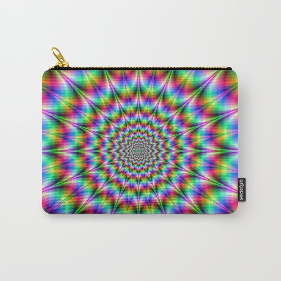 Psychedelic Explosion Carry-All Pouch