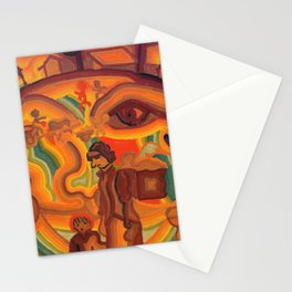 Face of War Stationery Cards