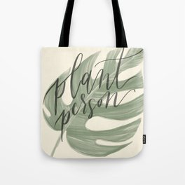 Plant Person Tote Bag