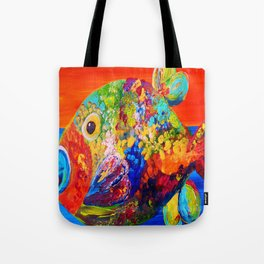 Deviously Dappled Tote Bag