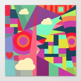 Geometric#7 Canvas Print
