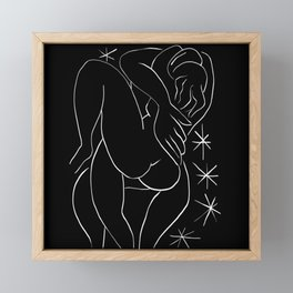 Matisse Loving Couple #2 Framed Mini Art Print