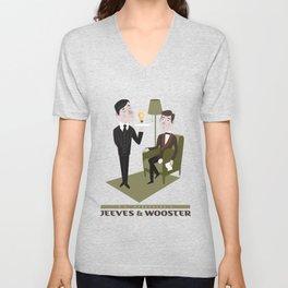 Jeeves & Wooster Unisex V-Neck