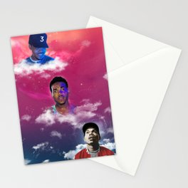 Cloudy With a Chance of Acid (remix) Stationery Cards