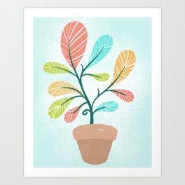 Potted Plant Art Print