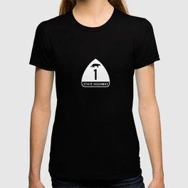 CA STATE HIGHWAY 1 T-shirt