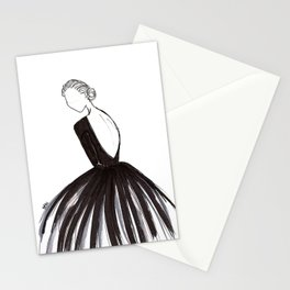Ebony Stationery Cards