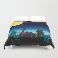cheese Duvet Covers featuring It must be Cheese by mangulica