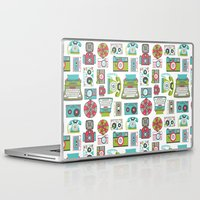 technology Laptop & iPad Skins featuring Vintage Technology by Allison Cole