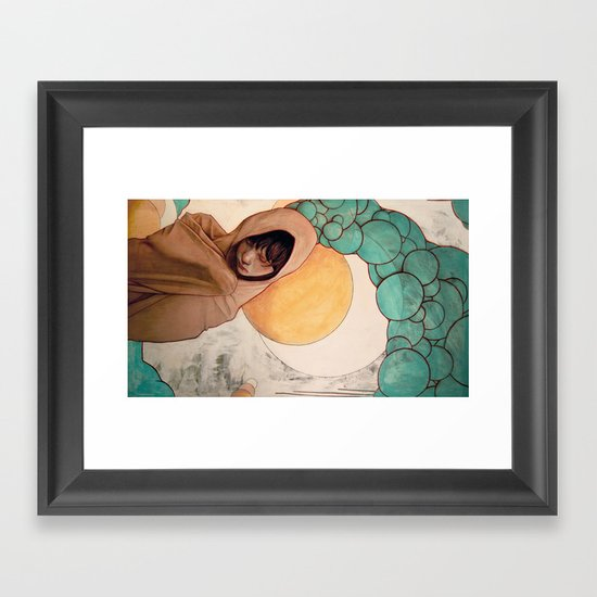 Drift Framed Art Print