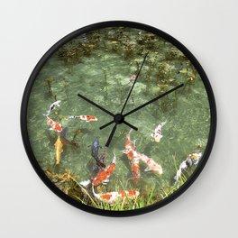 japanese carp Wall Clock