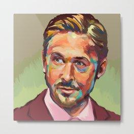 Hey, girl. It's Ryan Gosling Metal Print